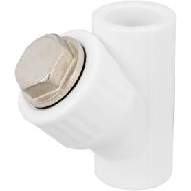 Фильтр косой, внутренняя-внутренняя резьба, 20 мм, полипропилен