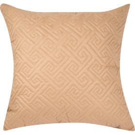 Подушка стёганая, 50х50 см, цвет ванильный