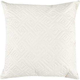 Подушка стёганая, 50х50 см, цвет шампань