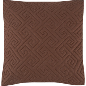 Подушка стёганая, 50х50 см, цвет кокос