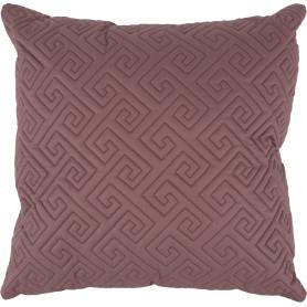 Подушка стёганая, 50х50 см, цвет винный