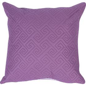 Подушка стёганая, 50х50 см, цвет чёрничный