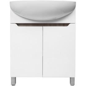 Тумба напольная «Руан-50» 48 см цвет белый