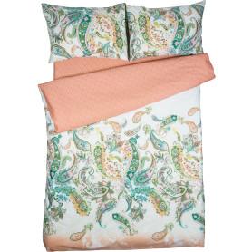 Комплект постельного белья Amore Mio Пейсли полутораспальный сатин