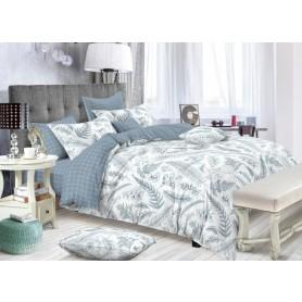 Комплект постельного белья Amore Mio Флори полутораспальный сатин
