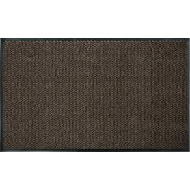 Коврик «Step», 90х150 см, полипропилен, цвет коричневый