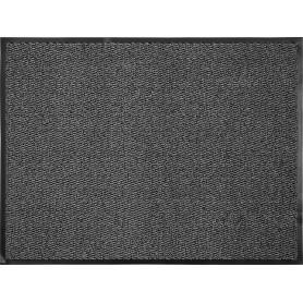 Коврик «Step», 90х120 см, полипропилен, цвет серый