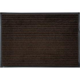 Коврик «Clean Stripe», 60x90 см, ПВХ/полипропилен, цвет коричневый