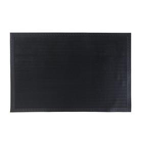 Коврик «Кирпичики», 40x60 см, резина, цвет чёрный
