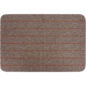 Коврик «Como», 67x100 см, полипропилен, цвет мокко/глина