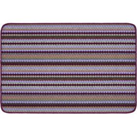 Коврик «Jolly», 50x80 см, полипропилен, цвет фиолетовый