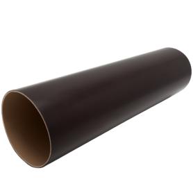 Труба водосточная Ø80 3 м коричневый