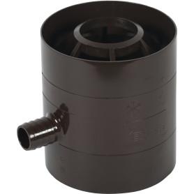 Водосборник Dacha 80 мм коричневый