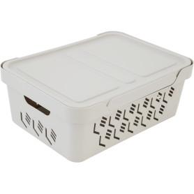 Ящик перфорированный с крышкой 12 л