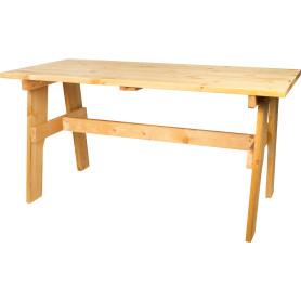 Стол садовый «Бьорн», 74х70х148 см, цвет тик
