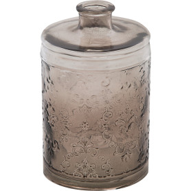 Ваза «Джеремми» стекло, цвет прозрачный дымчатый