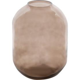 Ваза «Вольга 2» средняя стекло, цвет прозрачный дымчатый