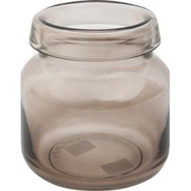 Ваза «Римас» 1, стекло, цвет прозрачный дымчатый