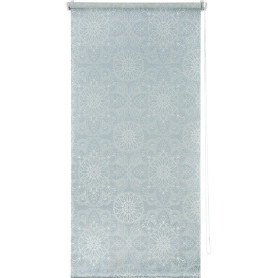 Штора рулонная «Мандала» 60х160 см, цвет голубой