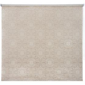 Штора рулонная «Мандала» 180х175 см, цвет бронзовый