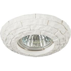 Светильник точечный встраиваемый D2940 W 65 мм, 2.5 м², цвет белый