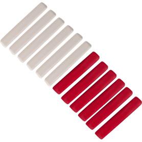 Мелки разметочные Спец, цвет белый/красный, 12 шт.