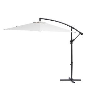 Зонт садовый Polar 2.9 м белый с подставкой