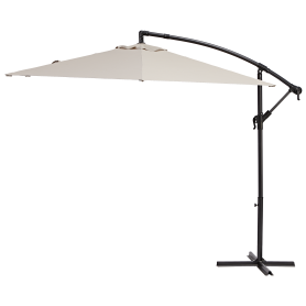 Зонт садовый Polar 2.9 м бежевый с подставкой