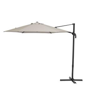 Зонт садовый Naterial Avea 2.9 м бежевый с подставкой