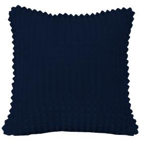 Подушка декоративная «Плюш», 43х43 см, цвет тёмно-синий