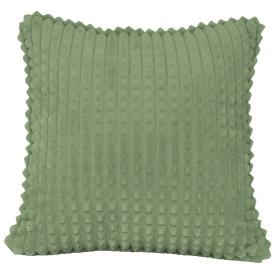 Подушка декоративная «Плюш», 43х43 см, цвет оливковый