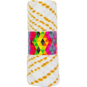 Плед «Pirina», 140х200 см, флис, цвет жёлтый