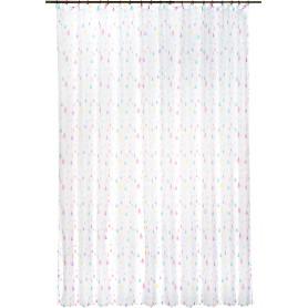 Тюль на ленте «Капли», 250х260 см, геометрия