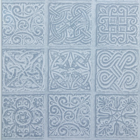 Панель ПВХ Мозаика сапфир 5 мм 2700x250 мм 0.675 м²