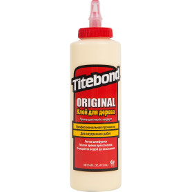 Клей столярный Titebond «Original Wood Glue» столярный цвет кремовый 473 мл