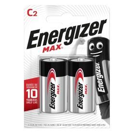 Батарейка алкалиновая Energizer Max C/LR14, 2 шт.