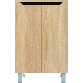Шкаф напольный «Руан» 50 см цвет сонома