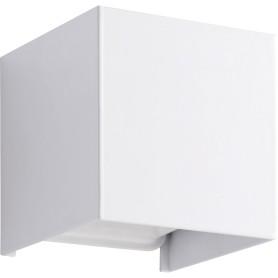 Настенный светильник светодиодный Kubbo, тёплый белый свет, цвет белый