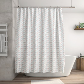 Штора для ванны Remix 180x200 см, полиэстер