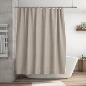 Штора для ванны Neo Rough 180x200 см цвет кремовый