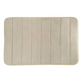 Коврик для ванной комнаты Cocoon 50x80 см цвет серый