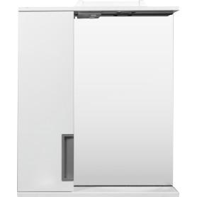 Шкаф зеркальный подвесной «Венто» 60x70 см цвет белый