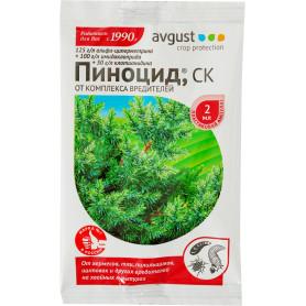 Средство для защиты хвойных растений от вредителей «Пиноцид» 2 мл