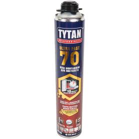 Пена монтажная пистолетная Tytan Ultra Fast 55 л всесезонная 870 мл