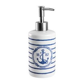 Дозатор для жидкого мыла Adventure цвет белый