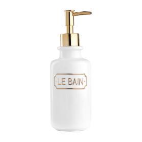 Дозатор для жидкого мыла Le Bain Blanc цвет золотой