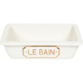 Мыльница Le Bain Blanc керамика цвет белый