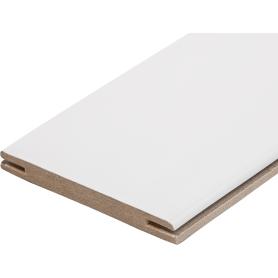 Добор дверной коробки 100x2100 мм, эмаль, цвет белый