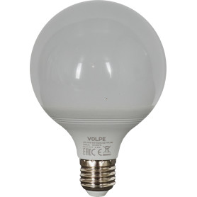 Лампа светодиодная Volpe Norma E27 220 В 16 Вт шар 1300 лм, белый свет