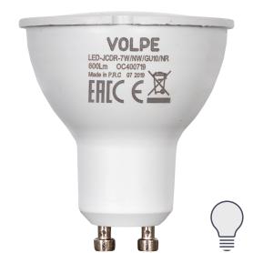 Лампа светодиодная Volpe Norma GU10 220 В 7 Вт спот 600 лм, белый свет